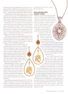 Rapaport features our Orielle rough diamond drop earrings. #ditrjewelry #luxury #earrings