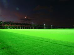 Twilight hour at our new Driving Range. Florida Hotels, Hotels And Resorts, Golf Academy, Spa Services, Golf Courses, Miami, Environment, Range, Luxury