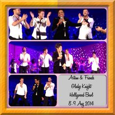 Montage of the DWTS Pros with Gladys Knight