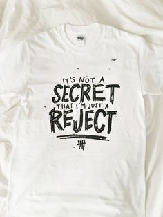 "5 Seconds of Summer 5SOS ""REJECTS"" song Doodle Tee on Etsy, $17.00"