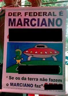 Marciano pode salvar a politica no Brasil » OVNI Hoje!
