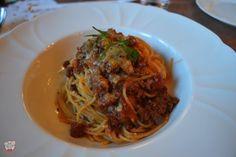 Spaghettini Bolognese
