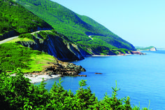 The Cabot Trail is a highway and scenic roadway in the Canadian province of Nova Scotia. It is located in northern Victoria County and Inverness County on Cape Breton Island.The route measures 298 km (185 mi) in length and completes a loop around the northern tip of the island, passing along and through the scenic Cape Breton Highlands. It is named after the explorer John Cabot who landed in Atlantic Canada in 1497.