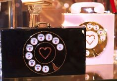Vintage Telephone Clutch by Charlotte Olympia.