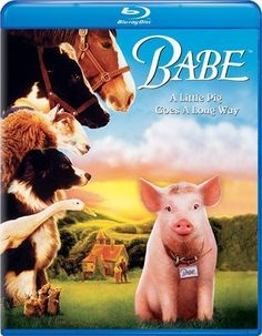"Babe.  Awww!!   My kids loved this movie!!    ""Pigs need love too!"""
