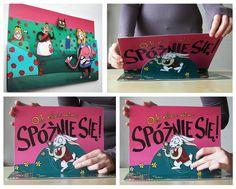 Ewa Baran - Alice in Wonderland pop-up illustrations. Alicja w Krainie Czarów