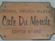 Been here too many times!  Cafe Du Monde. Best beignets in town!#Repin By:Pinterest++ for iPad#