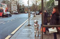 Hey mr.spaceman!  Out and about North London Christmas 2014  #streetphotography #leica #london #streetphoto by davidmagould101