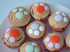 Paw Patrol, Mini Cupcakes, Birthdays, Food And Drink, Birthday Parties, Party Ideas, Baking, Desserts, Meet