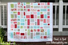 Hey all!  I am so excited to be sharing another Bake Shop Quilt with you…