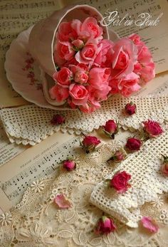 Girl in Pink: Tips for Drying Roses Pretty Flowers, Pretty In Pink, Pink Flowers, Shabby Flowers, Red Roses, Romantic Roses, Beautiful Roses, Beautiful Images, Drying Roses