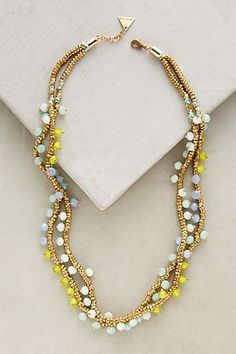 Zohara Necklace #anthropologie
