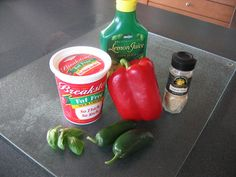 A delicious red pepper sauce recipe with jalapenos and red bell peppers from Chili Pepper Madness Cooking Tips, Cooking Recipes, Red Pepper Sauce, Stuffed Jalapeno Peppers, Red Peppers, Hot Sauce, Madness, Sauces, Chili