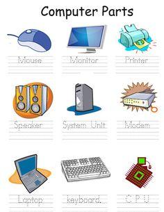 Computer Parts from teacherdag on TeachersNotebook.com (1 page)