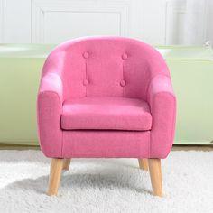 Toddler Chair, Toddler Furniture, Fabric Sofa, Cushions On Sofa, Single Sofa Chair, Kids Sofa Chair, Relaxing Places, Linen Sofa, Sofa Seats