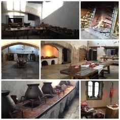 Medieval- Will use the cauldron idea in outdoor kitchen