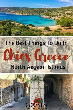 Chios Greece is one of the most fascinating and unique islands we've been to. Learn about the highlights of a trip in this travel guide to Chios Island. Greek Islands Vacation, Greece Vacation, Greece Travel, Places To Travel, Travel Destinations, Places To Visit, Travel Tips, Travel Guides, Greece Destinations