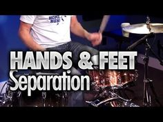 Hand & Feet Separation - Free Drum Lessons