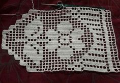 This Pin was discovered by Nur Crochet Boarders, Crochet Edging Patterns, Crochet Diagram, Square Patterns, Filet Crochet, Baby Knitting Patterns, Crochet Stitches, Stitch Patterns, Crochet Round