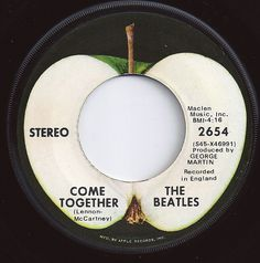 on Billboard / Come Together / Beatles. First 45 I bought when I was 10 years old. Beatles Albums, Beatles Songs, The Beatles, Kinds Of Music, I Love Music, Love Songs, 45 Records, Vinyl Records, Apple Records