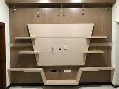 L C D unit Lcd Unit Design, Lcd Wall Design, Tv Unit Furniture Design, Bedroom Furniture Design, Tv Unit Decor, Tv Wall Decor, Tv Showcase, Lcd Units, Tv Wall Cabinets