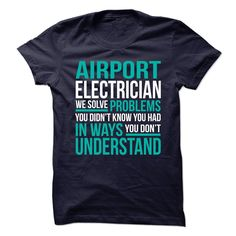 Awesome Design for **AIRPORT-ELECTRICIAN** T Shirts, Hoodies. Check price ==► https://www.sunfrog.com/No-Category/Awesome-Design-for-AIRPORT-ELECTRICIAN.html?41382 $21.99