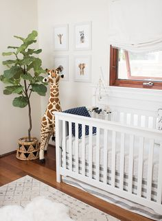 These bohemian inspired nurseries have a touch of modern and clean lines while still bringing in a bohemian feel for a fun space for baby to grow into.