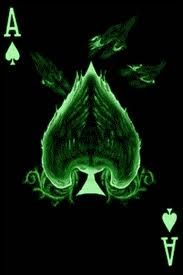 Favorite card. Ace of Spades.
