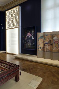 'Intérieur coréen', Exposition temporaire au Musée National des arts asiatiques — GUIMET— 18 septembre 2015 au 14 mars 2016Scénographie : David LEBRETON & Benjamin TOVOBudget : 60 000 € HTSurface : 200 m2