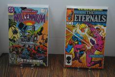 2  Comics The Eternals 1985 & Millennium 1987   Free by HobbyHaven, $4.00