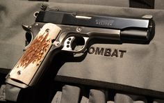 Col. Jeff Cooper Style Colt Combat Elite 1911 .45acp 1911 Pistol, Colt 1911, Weapons Guns, Guns And Ammo, Jeff Cooper, 1911 Parts, Cz 75, M1911, Fire Powers
