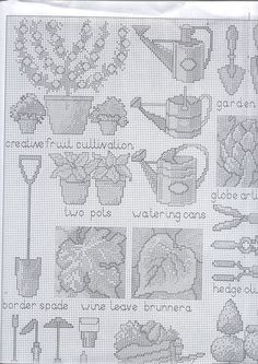 English Garden I Cross Stitch Samplers, Cross Stitching, Cross Stitch Embroidery, Embroidery Patterns, Cross Stitch Patterns, Knitting Charts, Cutwork, Needle And Thread, Needlework