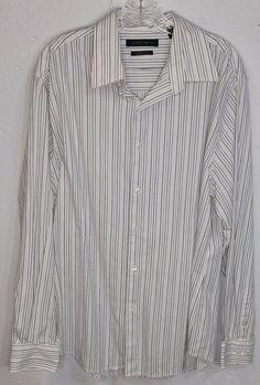 Nautica Mens Tan Blue Plaid 100% Cotton Short Sleeve Button Down ...