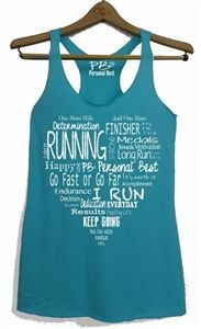 Fitness tank top - The heart of running - $17.99