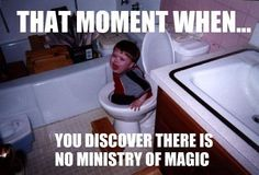 For Haley -What do you mean there is no ministry of magic?