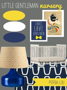 New Nursery Mood Board by Persia Lou