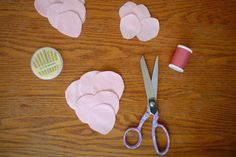 Fabric Flowers   DIY Projects   100 Layer Cake