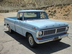 Learn more about Clean And Original 1970 Ford on Bring a Trailer, the home of the best vintage and classic cars online. Classic Ford Trucks, Old Ford Trucks, Old Pickup Trucks, Diesel Trucks, Lifted Trucks, Chevrolet Trucks, Lifted Chevy, Toyota Trucks, Chevrolet Silverado