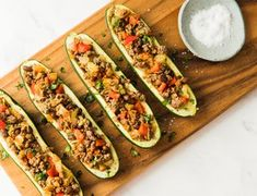 System Recipes Zucchini Health Benefits, Spinach Benefits, Kebab Recipes, Beef Recipes, Health Recipes, Beef Zucchini Boats, Oven Cooked Bacon, Scrambled Tofu Recipe, Low Carb Grocery