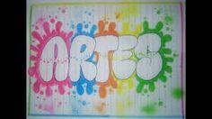 Resultado de imagen para como marcar cuadernos Art Tumblr, Diy And Crafts, Arts And Crafts, Page Borders Design, Page Decoration, School Notebooks, Art Folder, Galaxy Painting, School Notes