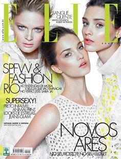 Capa da Elle Brasil de julho de 2012!