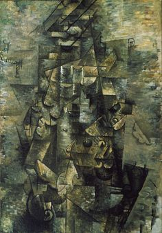 Georges Braque. Man with a Guitar. Céret, summer 1911-early 1912