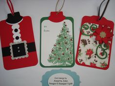 christma tag, christma card, papercraft, gift tags
