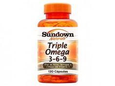 Triple Ômega 3,6,9 120 Cápsulas - Sundown Naturals com as melhores condições você encontra no Magazine Siarra. Confira!