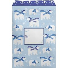 Small Christmas Printed Padded Mailing Envelopes, Polar Bear (12 Pcs) – Present Paper Mailing Envelopes, Polar Bear, Biodegradable Products, Presents, Gift Wrapping, Printed, Paper, Christmas, How To Make