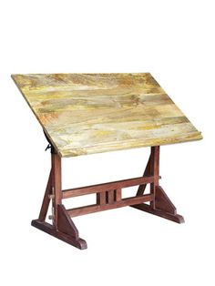 Architect's Desk by Bois et Cuir on Gilt Home. I have a vintage one of these, not just one that looks vintage. I think I paid $5. Maybe $10. Definitely not $799