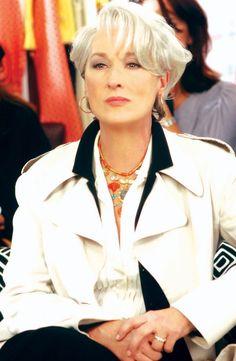Meryl Streep as Miranda Priestly;  2006 The Devil Wears Prada; 1307x2000px