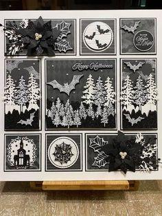 Halloween Shadow Box, Halloween Frames, Halloween Magic, Halloween 2020, Halloween Cards, Halloween Decorations, 3d Craft, Craft Gifts, Stampin Up