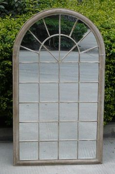 Buy Bentley Garden Single Arch Grey Mirror From Our Mirrors Range At Tesco Direct