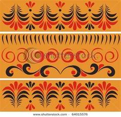 russian pattern, Russian costume inspiration for Sk8 Gr8 Designs